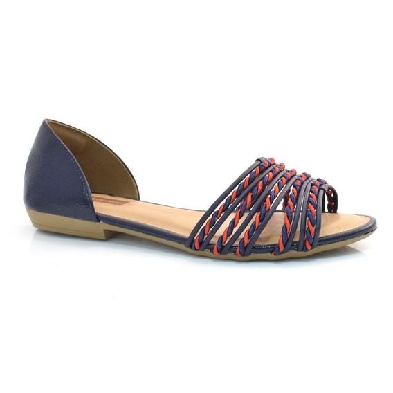 Sandália Dakota Rasteira Feminina Z3712 361304 | Calcebel