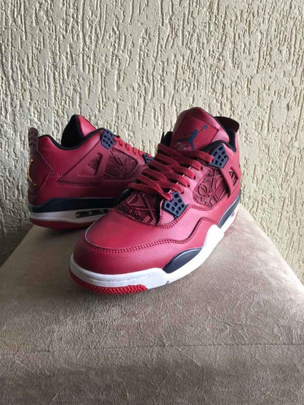 Tênis Nike Air Jordan 4 Gyn Red Pronta Entrega