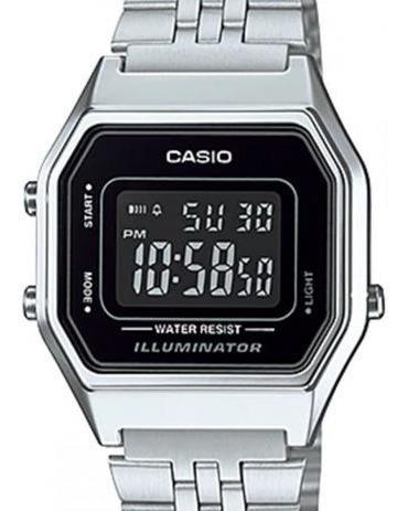 Relógio Feminino Casio La680wa-1bdf Original