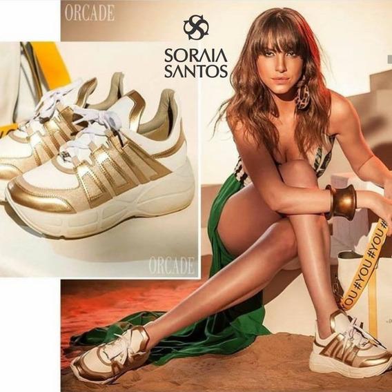 Tenis Orcade Dad Sneaker Bronze 084502