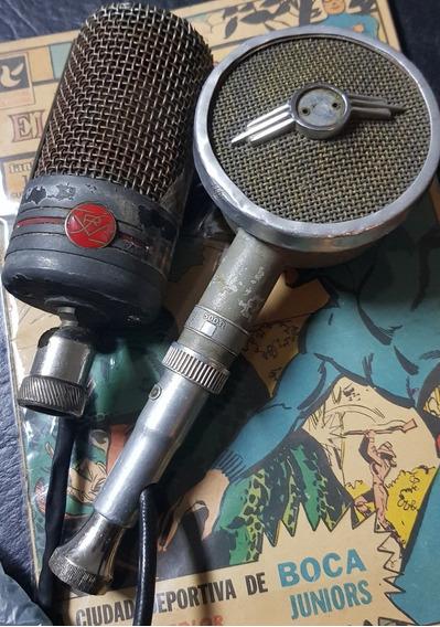 Phillips: 2 Microfonos Antiguos 1930/1940