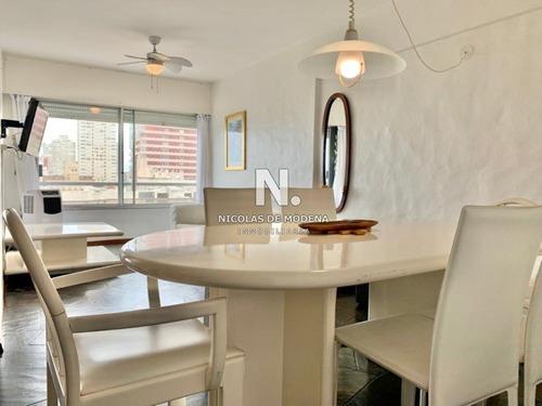 Apartamento Oportunidad Un Dormitorio Y Medio Punta Del Este En Venta- Ref: 2834