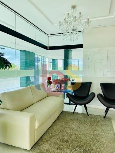 Apartamento 3/4 No Residencial Villa Serena - 3357