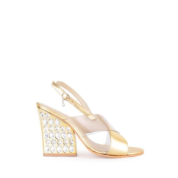 Sandalias Zapatos De Mujer Noche Francesca - Ferraro -