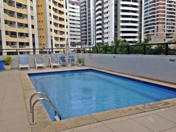 Apartamento Cobertura Horizontal 3 Quartos Sendo 2 Suítes 198m2 Na Pituba - Uni271 - 33575179