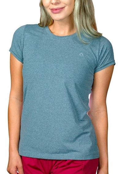 Camiseta Alasca Esporte Slimfit Fem 100% Poliamida Dry Fit