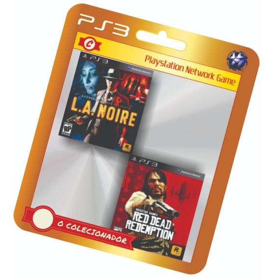 La Noire + Red Dead Redemption - 2 Jogos!!