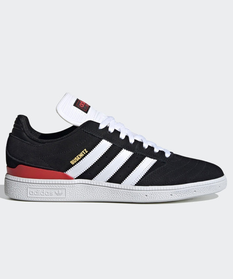 Tenis adidas Skateboarding Busenitz Pro Black/white/scarlet