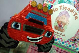 Piñata Blaze And The Monsters Machines- La Tiendita De Mana