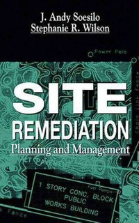 Site Remediation - J.andy Soesilo (hardback)