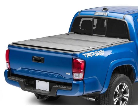 Tapa Para Batea Hard 3 Fold Cover Toyota Tacoma 2016-2019 5.0 Pies Tres Pliegues (fácil De Instalar)