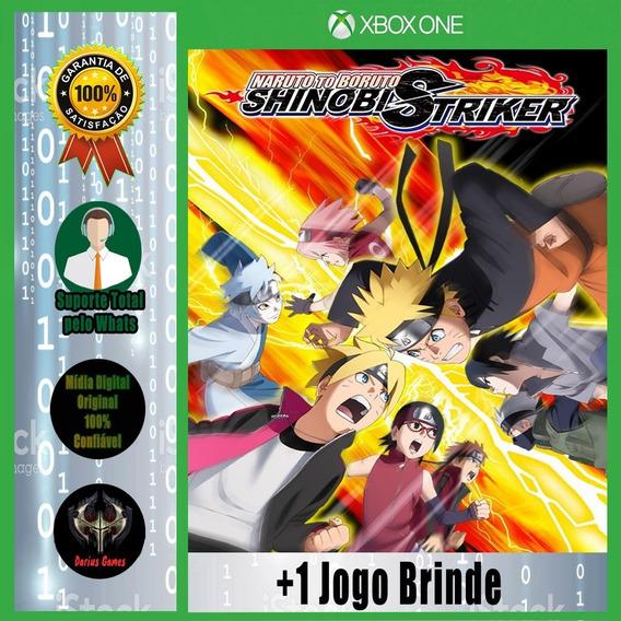 Naruto Boruto Shinobi Striker Xbox One Midia Digital +1 Jogo