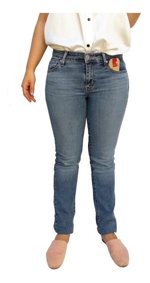 Pantalón Jean Levis 712 Slim Dama Mujer