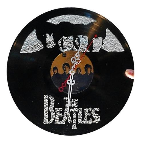 Disco De Vinilo The Beatles Arte Decoracion