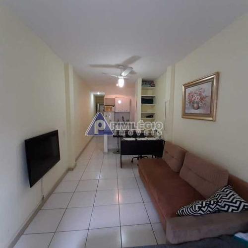 Imagem 1 de 17 de Apartamento À Venda, 1 Quarto, Copacabana - Rio De Janeiro/rj - 4134