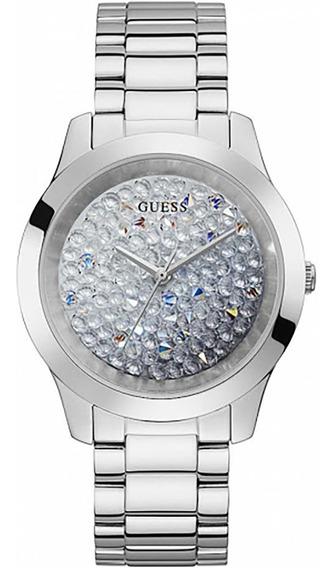 Relógio Guess Feminino Gw0020l1 Com Cristais