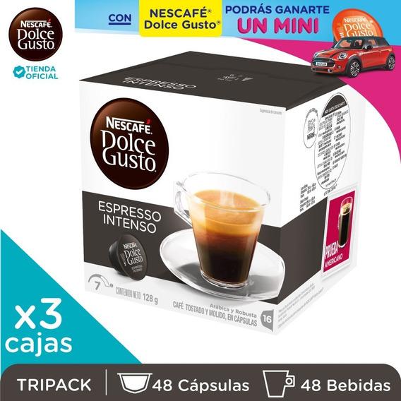 Nescafé® Dolce Gusto® Espresso Intenso X 3 Cajas