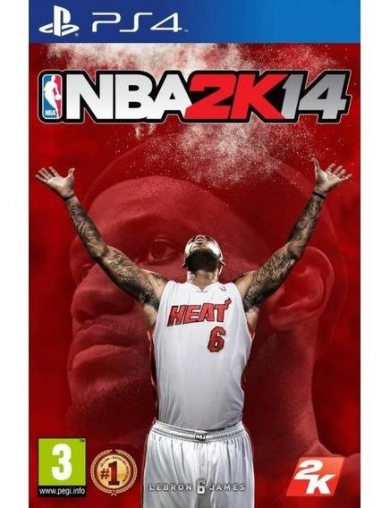 Jogo Novo Lacrado Nba2k14 Pronta Entrega Para Playstation 4