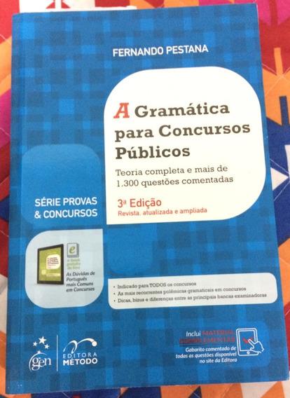 A Gramática Para Concurso Público - Fernando Pestana (novo)