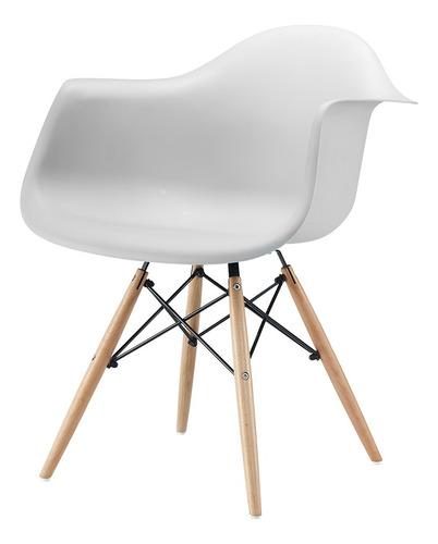 Sillon Silla De Comedor Diseño Eames Dsw Patas Madera Cuotas