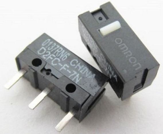 Micro-switch Omron D2fc-f-7n P/ Mouse Gamer 4 Unidades