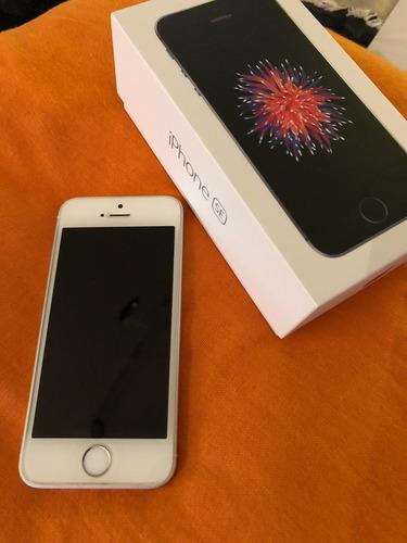 Imagem 1 de 5 de iPhone SE 64gb Branco (perfeito Estado/ Com Tela De Vidro)