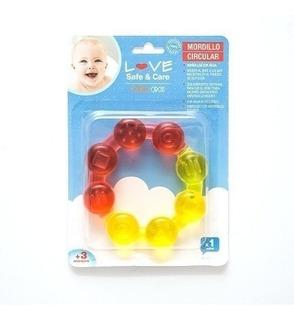 Mordillo Refrigerante Dentición Bebés Love Varios Modelos