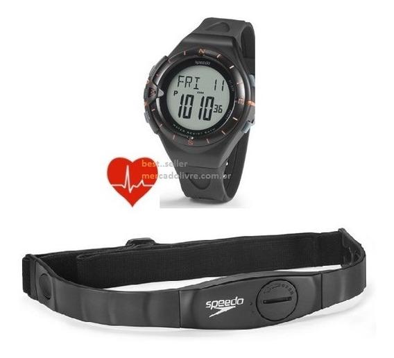 Relógio Pulso Monitor Cardíaco Speedo 58010g0evnp1 Frequênci