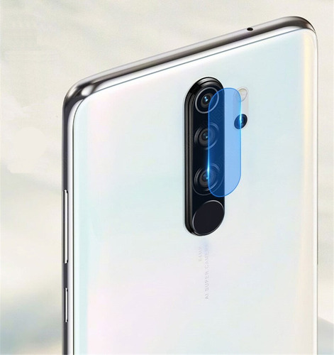 Vidrio Film Templado Para Camara Trasera Xiaomi Note 8 Pro