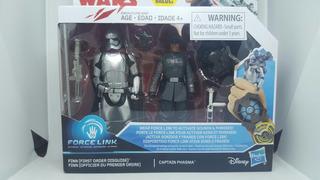Star Wars Force Link Finn Vs Capitan Phasma Disney Hasbro