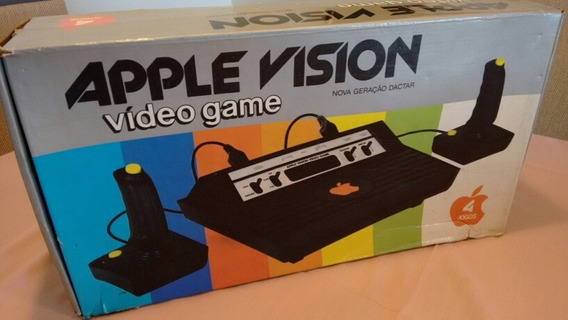 Milmar Apple Vision! Raro! Completo! Atari Clone!