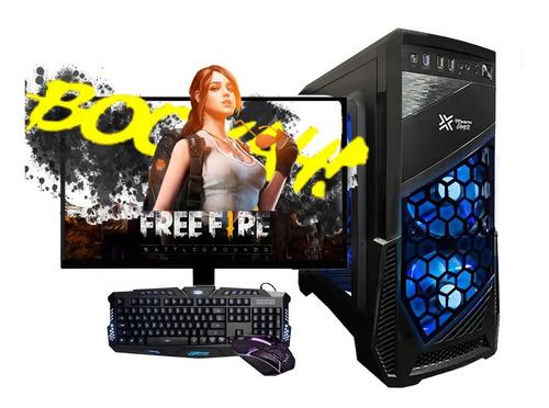 Pc Gamer Completo I3 8gb, Hd500gb, C/ Monitor 19 Wind 10