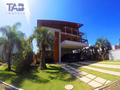 Casa No Condomínio Horizontal Praia Brava Com 3 Dormitórios À Venda, 370 M² Por R$ 3.200.000 - Praia Brava - Itajaí/sc - Ca0003