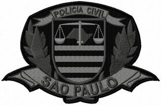 Patch Policia Civil Sp No Mercado Livre Brasil