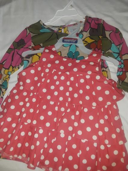 Vestido Y Camisa De Niñas Talla 5