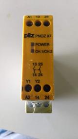 Relé De Segurança Pilz Pnoz X7 24vac/dc
