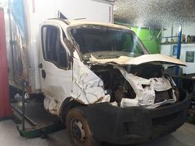 Sucata Retirar Peças Iveco Daily 3.0 Baú 35s14 Diesel 2014