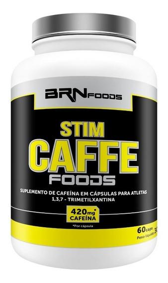 Termogenico (pre Treino) Stim Caffe 60cáps - Brn Foods Full
