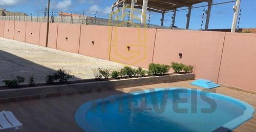 Imagem 1 de 10 de Casa Verde E Amarela Com Área De Lazer Na Praia Do Francês A Partir De 160mil!!! - 934