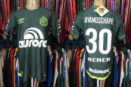 Chapecoense 2017 Camisa Titular Tamanho M Número 30 Nenem.