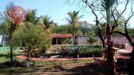 Chácara À Venda, Com 2430 M² - Condomínio Portal Dos Ipês - Ribeirão Preto/sp - Ch0084
