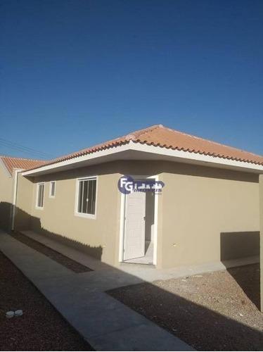 Imagem 1 de 21 de Casa Com 3 Dormitórios À Venda, 60 M² Por R$ 264.900,00 - Cajuru - Curitiba/pr - Ca0090