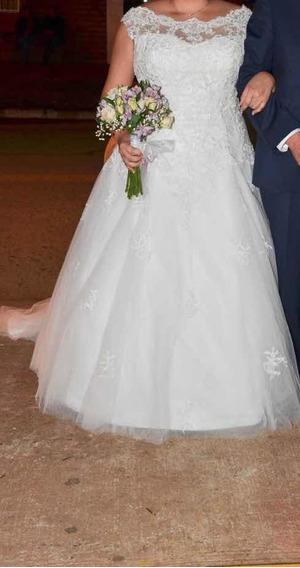 Vestido De Novia Xl Exclusivo Casa Blanca