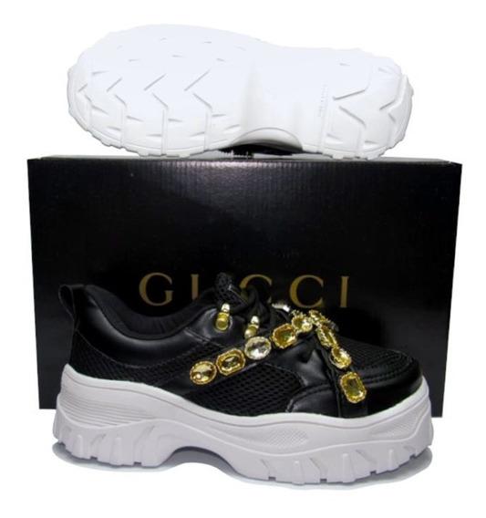 Tênis Feminino Gucci Femme Promoção Lançamento