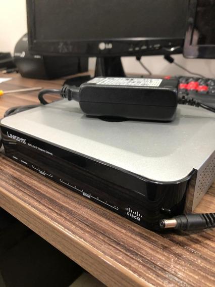 Linksys Spa8000 + 8 Portas Fx - Ata Gateway Voip Cisco