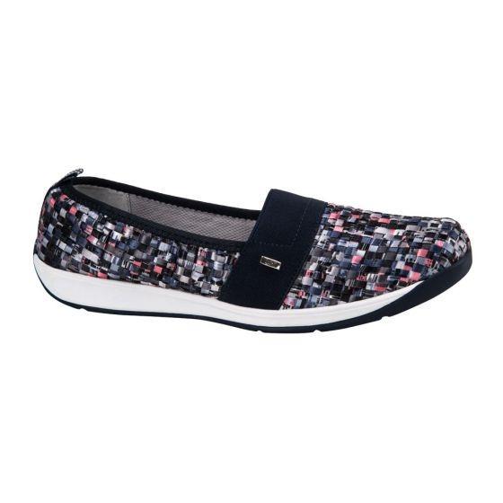 Zapato Confort Dama Flexi Multicolo 164105 Cft 1-19 J