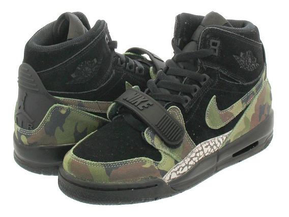 Nike Jordan Legacy 312 Gs Camo Basquet Bota Mayma Sneakers