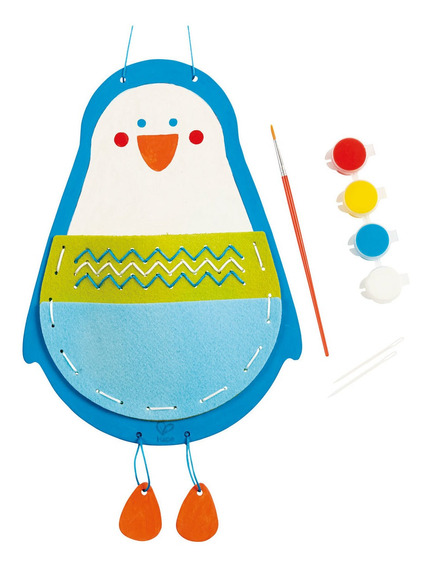 Bolso De Pingüino Hape Kit Para Coser Arte Y Manualidades