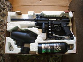 Marcadora Tippmann A5 Pistola De Paintball Impecable En Caja