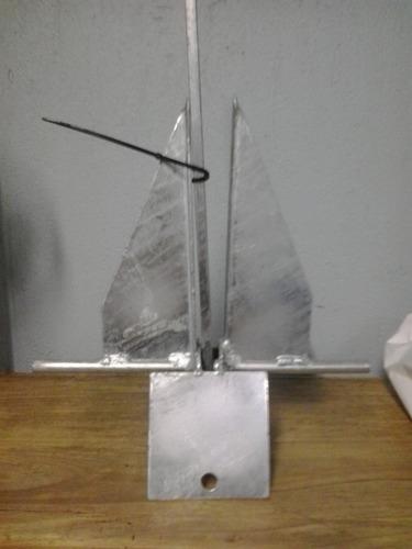 Imagem 1 de 3 de Ancora Danforth 20,0 Kgs Em Aço Galvanizado